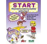 START - Matematica si explorarea mediului pentru clasa I semestrul al II-a (CD inclus)