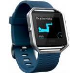 Ceas activity tracker Fitbit Blaze, Curea Large (Albastru)
