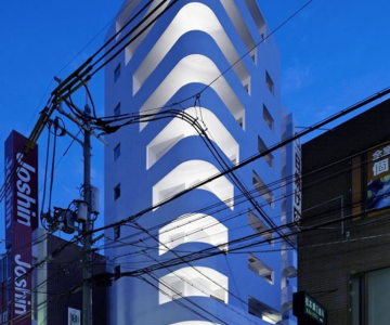 Cladirea in trepte din Osaka