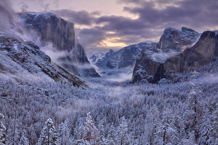 Cele mai frumoase peisaje de iarna - Poza 17