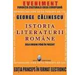Istoria Literaturii Romane. Editia Princeps in format electronic - CD