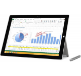 "Microsoft Tableta Microsoft Surface Pro 3, Surface Pen, Procesor Intel® Core™ i3-4020Y Dual-Core 1.5GHz, ClearType Full HD Display 12"", 4GB RAM, 64GB SSD, 5MP, Wi-Fi, Microsoft Windows 8.1 Pro (Argintiu) Tablete Tableta ce poate inlocui laptop-ul tau"