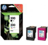 Cartus cerneala HP 300 Combo (Negru + color)