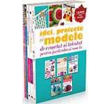 Pachet: Idei proiecte si modele de crosetat si tricotat (5 volume)