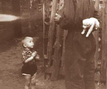 Momente emotionate din trecut, in poze de colectie