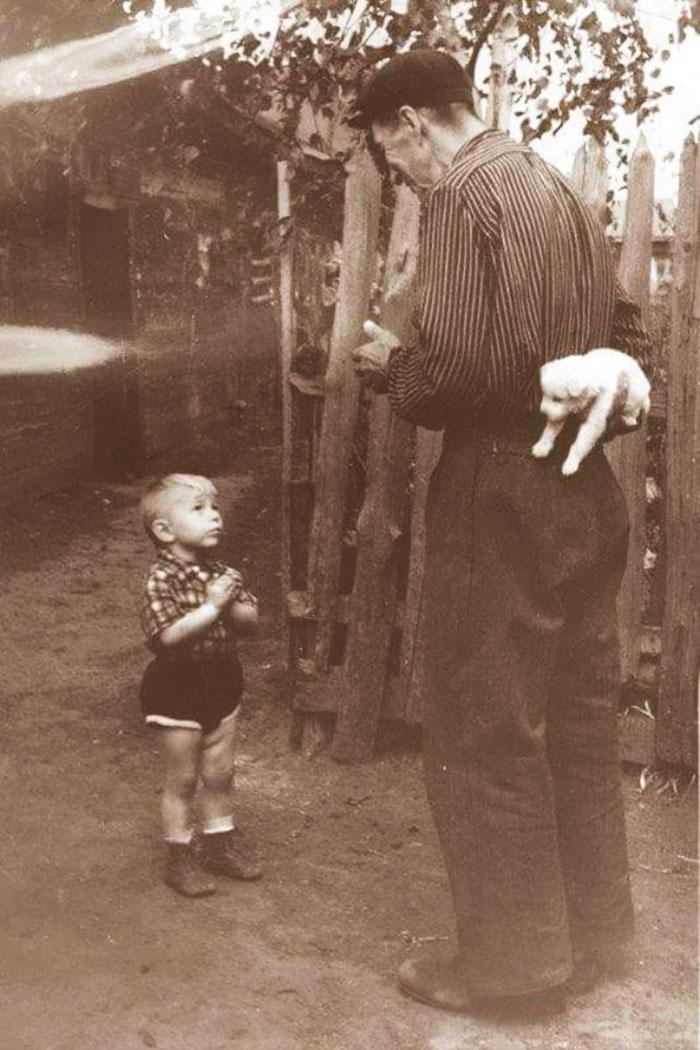 Momente emotionate din trecut, in poze de colectie - Poza 1