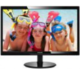 Monitor TFT LED Philips 24inch 246V5LDSB, Full HD (1920 x 1080), VGA, DVI, HDMI, 1 ms (Negru)