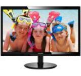 Monitor TFT LED Philips 24inch 246V5LDSB, Full HD (1920 x 1080), VGA, DVI, HDMI, 1 ms (Negru)