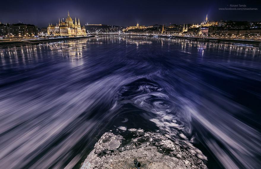 Frumusetea Dunarii inghetate, in poze superbe - Poza 12