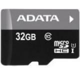 Card de memorie A-DATA microSDHC, 32GB, UHS-I + Micro cititor USB