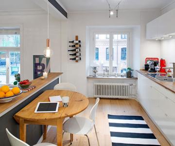 Apartament originalitate si colorat de 60 mp la Gothenburg
