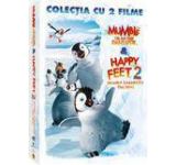 Pachet: Happy Feet + Happy Feet 2