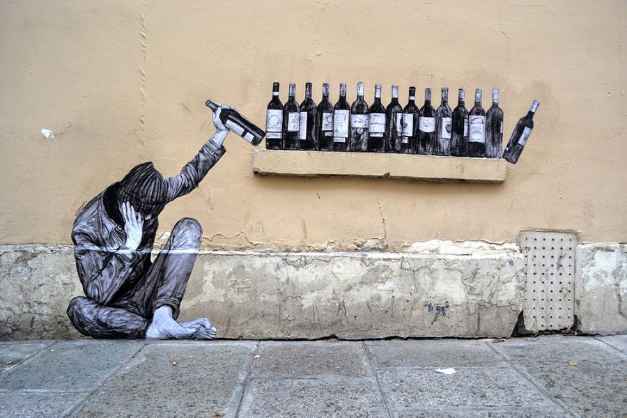 Ilustratii satirice pe strazile Parisului - Poza 4