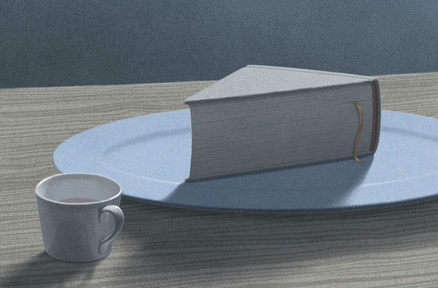 Capodopere literare, in ilustratii suprarealiste - Poza 2