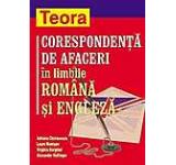 Corespondenta de afaceri in limbile romana si engleza