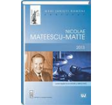Mari juristi romani. Nicolae Mateescu-Matte