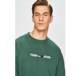 Tommy Jeans - Bluza verde 4911-BLM0DW