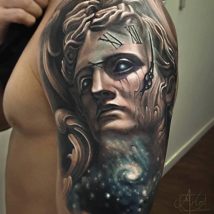 Tatuaje impresionante suprarealiste, de Alro DiCristina - Poza 12