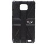 Husa piele Mini Cooper MNHLS2UJBL pentru Samsung Galaxy S II i9100 (Neagra)