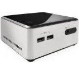 Barebone Intel NUC (Next Unit of Computing) Wilson Canyon (Placa de baza D54250WYB, Intel Core i5-4250U, Haswell, No RAM, No HDD, suport 2.5inch, Intel HD Graphics 5000, 2 x USB 3.0, HDMI, MiniDisplay Port)