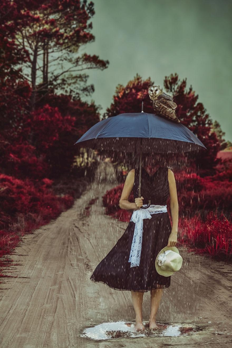 Povestea depresiei, in autoportrete conceptuale - Poza 6