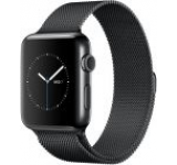Smartwatch Apple Watch 2, Retina OLED Capacitive touchscreen 1.65inch, Bluetooth, Wi-Fi, Bratara Metalica 42mm, Carcasa Otel inoxidabil, Rezistent la apa si praf (Negru)