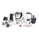 Robot de bucatarie TEFAL Masterchef Gourmet QB505138, 900W (Alb)