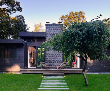 Casa de sfoara, de Bates Masi Architects