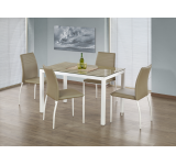 Set Masa din sticla Timber + 4 scaune K168