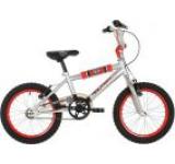 Bicicleta Raleigh Fury FUR16SL, Cadru 10inch, Roti 16inch (Argintiu/Rosu)