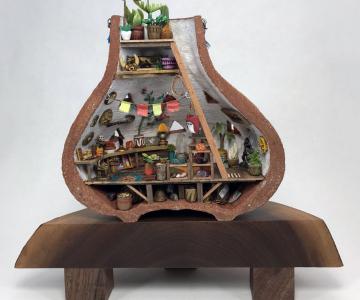 Fabuloasele lumi miniaturale ale lui Jedediah Corwyn Voltz