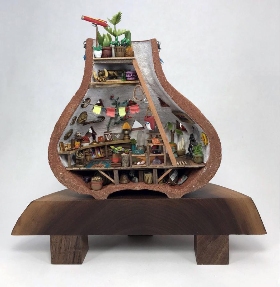 Fabuloasele lumi miniaturale ale lui Jedediah Corwyn Voltz - Poza 1