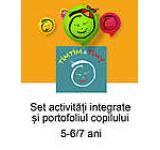 Set activitati integrate si portofoliul copilului Timtim-Timy 5-6/7ani