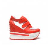 Pantofi Casual Spin Rosii