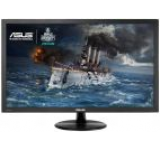 Monitor Gaming TN LED ASUS 23.6inch VP247H, Full HD (1920 x 1080), HDMI, DVI, VGA, 1 ms, Boxe, Low Blue Light, Flicker Free, TUV certified (Negru)