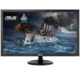 Monitor Gaming TN LED ASUS 23.6inch VP247H, Full HD (1920 x 1080), HDMI, DVI, VGA, 1 ms, Boxe, Low Blue Light, Flicker Free, TUV certified (Negru)