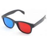 Ochelari 3D anaglifici Albacom A52 cu rame din plastic (Rosu/Albastru)
