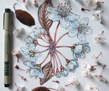 Flori imbobocite, de Noel Badges Pugh