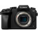 Aparat Foto Mirrorless Panasonic DMC-G7E, Body, 16.1 MP, CMOS, Filmare 4K (Negru)