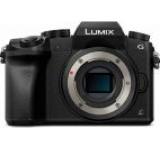 Aparat Foto Mirrorless Panasonic DMC-G7E, Body, 16.1 MP, CMOS, Filmare 4K (Negru)