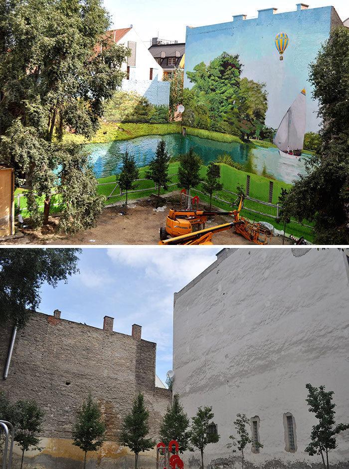 Arta stradala: Cele mai frumoase picturi pe cladiri - Poza 17