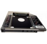 HDD Caddy Laptop 12.7mm, intern SATA, extern SATA, Aluminiu