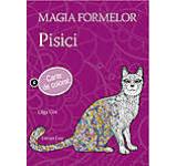 Magia formelor - Pisici. Carte de colorat pentru adulti