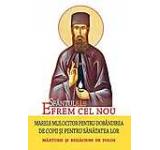 Sfantul Efrem cel Nou - marele mijlocitor pentru dobandirea de copii si pentru sanatatea lor