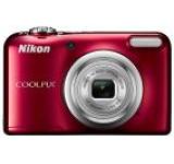 Aparat Foto Digital NIKON COOLPIX A10, Filmare HD, 16.1 MP, Zoom optic 5x (Rosu)