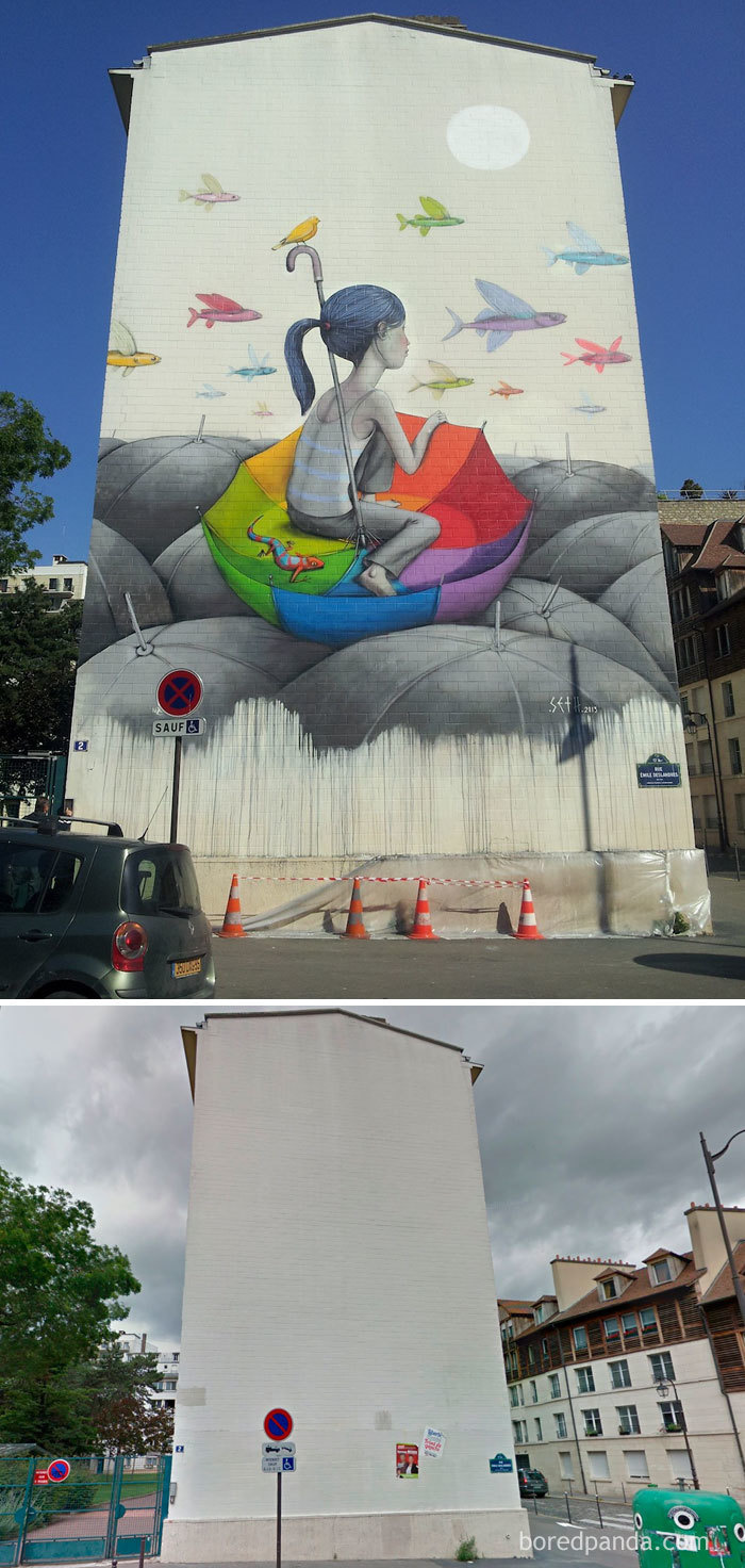 Arta stradala: Cele mai frumoase picturi pe cladiri - Poza 8