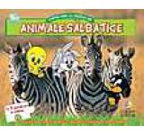 Animale salbatice. Cartea mea cu puzzle-uri (Baby Looney Tunes)