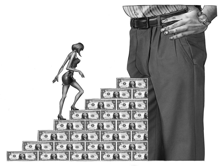 Problemele societatii actuale, in ilustratii rascolitor de sincere - Poza 10