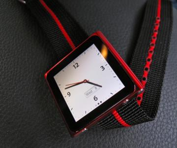 Ceas de mana dintr-un iPod Nano