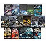 Clive Cussler Dirk Pitt Series Collection 16 Books Set